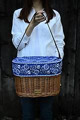 Kabelky - Prútená kabelka do ruky N°15 - 13707128_