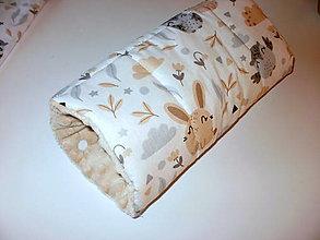 Textil - vankúšik pre kojencov - rukávnik - 13706944_