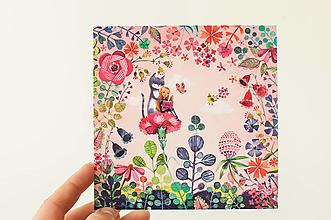 """Papier - Pohľadnica """"čítajme si"""" - 13706472_"""
