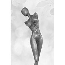 Sochy - Dievča - torzo, cínová socha, moderná, akt - 13710743_
