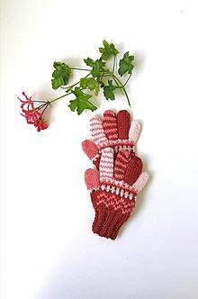 Detské doplnky - Detské prstové rukavice - 13710750_
