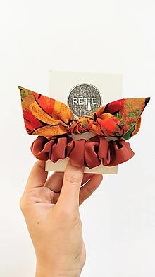 Ozdoby do vlasov - Jesenný set  (oranžový) - 13709583_