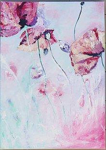 Obrazy - Pastelove maky - 13710379_