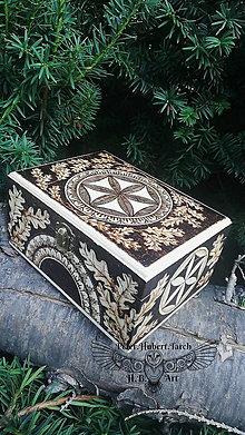 Krabičky - Hlaholika z brestu - 13713019_