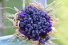 Dekorácie - Levanduľová kytička - 13711502_