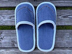 Ponožky, pančuchy, obuv - Papuče pre Lucku - 13713197_