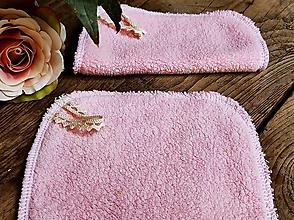 Úžitkový textil - Růžový maxi tampon beránek - 13711648_