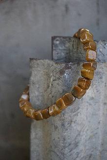 Náramky - Náramok z perleťových kociek - 13713326_
