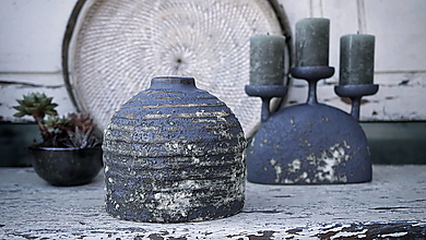 Dekorácie - Váza z kameniny - 13713588_
