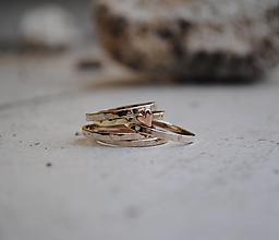 Prstene - Prstienky na želanie - 13716224_