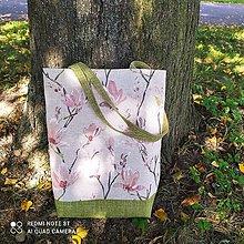 """Nákupné tašky - Taška """" MAGNOLIE"""" - 13714581_"""
