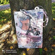 """Nákupné tašky - Taška """" PARIS"""" - 13714620_"""