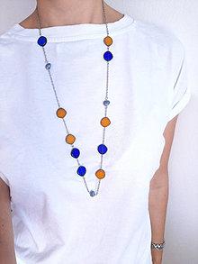 Náhrdelníky - Dlhý náhrdelník Florida - 13714724_