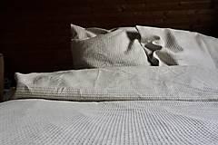Úžitkový textil - Lněné povlečení Waffle - 13714414_