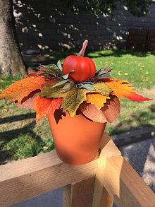 Dekorácie - jesenná dekorácia v terakote ... - 13715557_