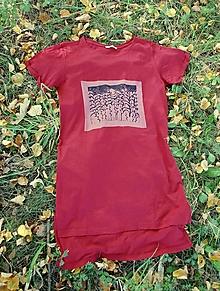 Šaty - dámske šaty rastliny 40 - 13715361_