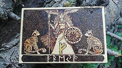 Krabičky - Freya - Kráľovná Valkýr - 13719033_