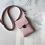Kabelky - Tara Pink (mini-kabelka) - 13717259_