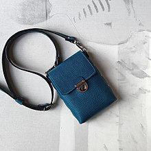 Kabelky - Tara Turquoise (mini-kabelka) - 13717298_