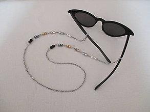 Iné šperky - Retiazka na okuliare - viacfarebná - chirurgická oceľ - 13718189_