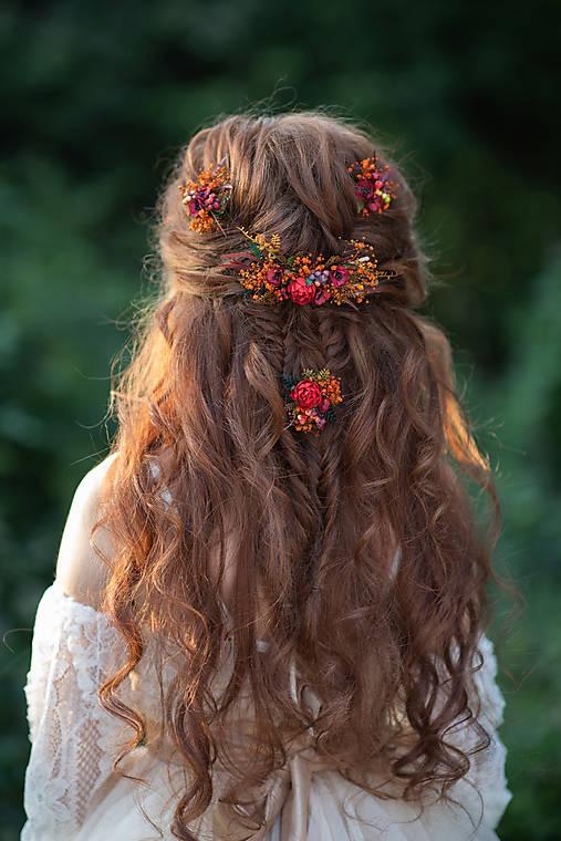 """Kvetinový hrebienok """"dúšok jesene"""""""