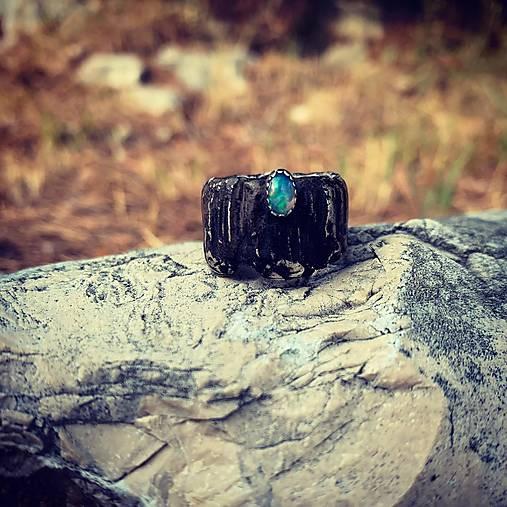 Strieborný prsteň - Mám Ťa rád