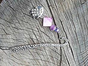 Iné šperky - Záložka do knihy rybka - 13720098_