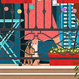 Grafika - Barcelona II. - umělecký tisk - 13723879_