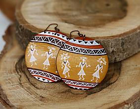 Náušnice - Náušnice - Africana - 13722718_