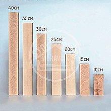 Nábytok - Nábytková noha hranatá 30cm, buk - 13724058_