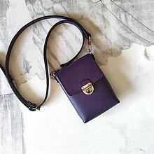 Kabelky - Tara Purple (mini-kabelka) - 13723001_