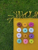 - Háčkovaný koláčik - donut - 13723910_