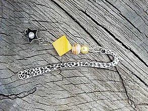 Iné šperky - Záložka do knihy hviezda - 13727225_