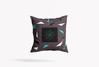 Úžitkový textil - Dekoračný vankúš LIMYR - 40x40 cm - 13725971_