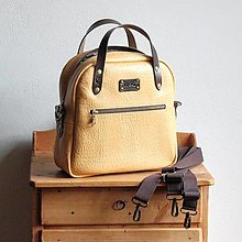 Kabelky - Leather LUSIL bag 3in1 *Goldie* - 13727800_