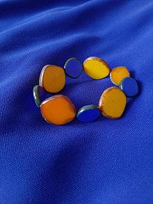 Náramky - Exkluzívny náramok Modrá - 13728939_