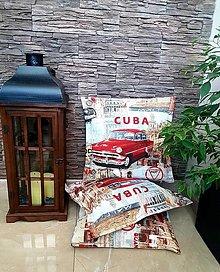 """Úžitkový textil - Dekoračné vankúše """"CUBA"""" - 13727858_"""