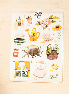Papier - Samolepky - Cozy Home - 13728314_