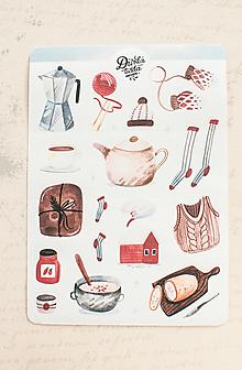 Papier - Samolepky - Cozy Norge - 13728350_