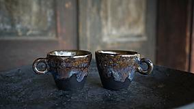 Nádoby - Hrnčeky na espresso (Pestrofarebná) - 13726586_