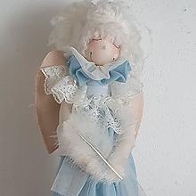 Bábiky - Anjelik (Modrý) - 13727715_