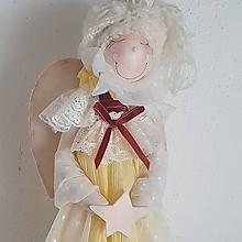 Bábiky - Anjelik (Žltý) - 13727719_