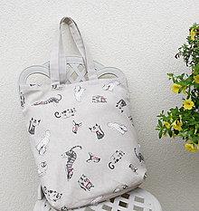 Nákupné tašky - Mačky II...taška - 13731307_