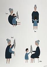 Obrazy - Babka / reprodukcia - 13729352_