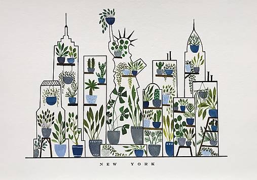 New York / reprodukcia
