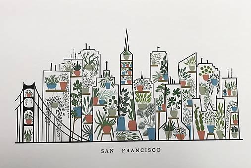 San Francisco /reprodukcia malby