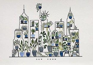 Obrazy - New York / reprodukcia - 13729332_