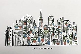 Obrazy - San Francisco /reprodukcia malby - 13729344_
