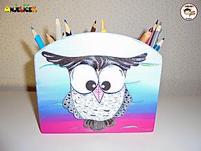 Detské doplnky - Stojan - na ceruzky - 13730816_