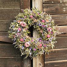 Dekorácie - Venček na dvere - 13731325_